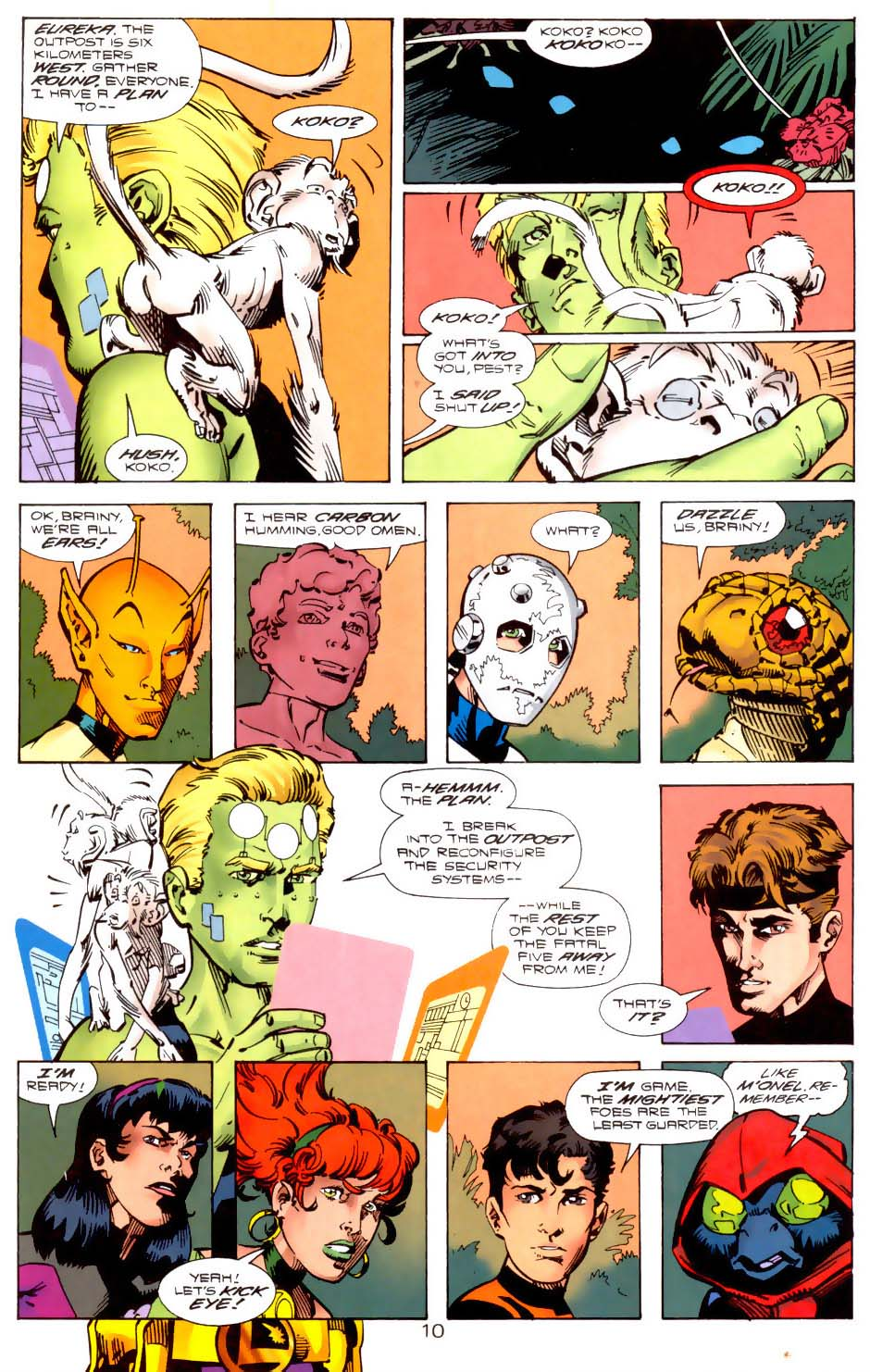 Legion of Super-Heroes (1989) 121 Page 9