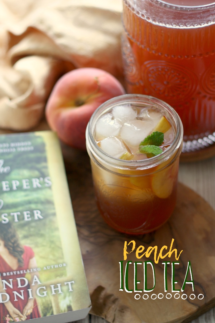 Peach Iced Tea | The Innkeeper's Sister