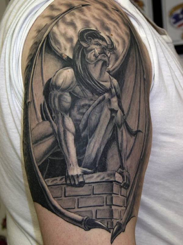 hot trend of 3d tattoos designs in youngster 3
