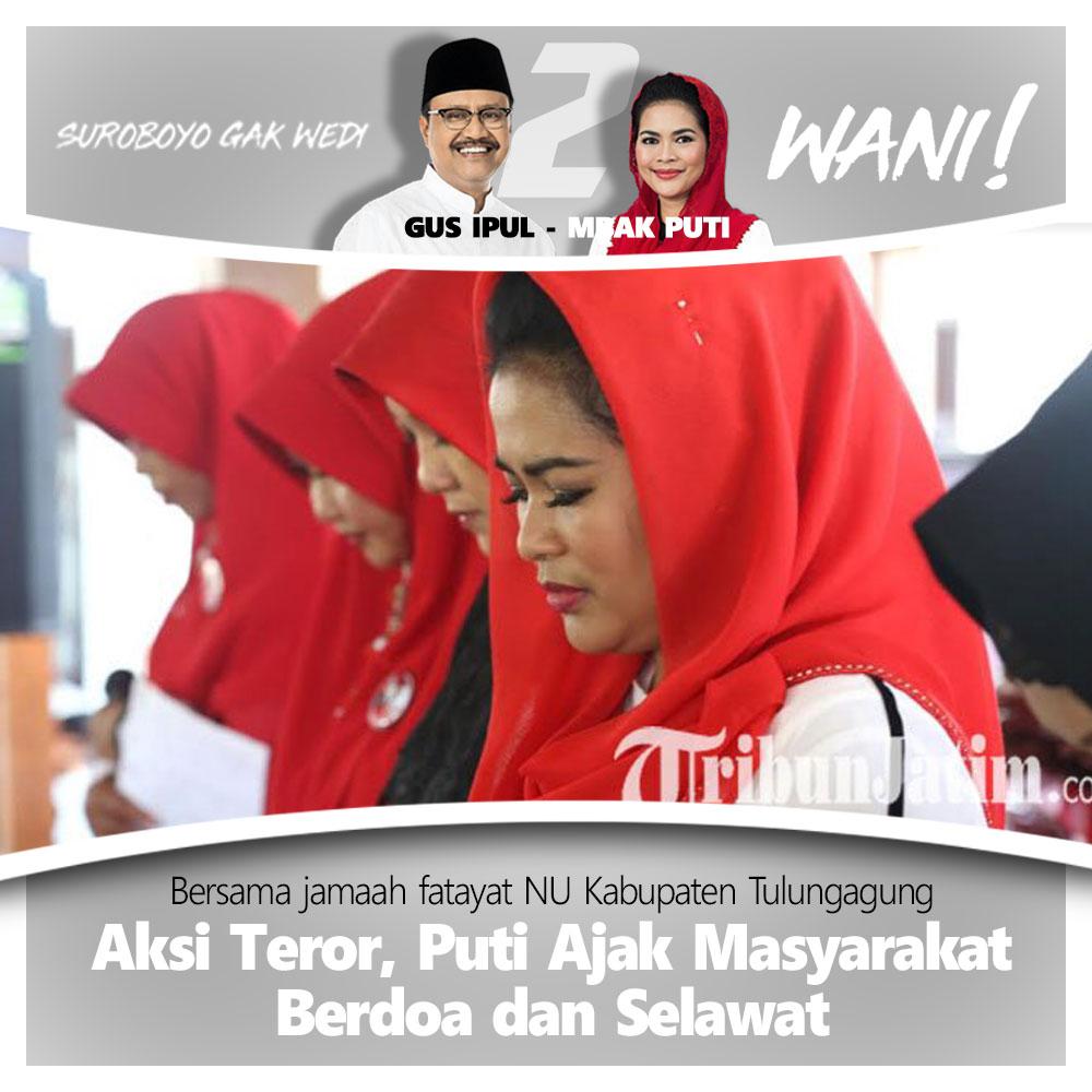 Puti Soekarno Kutuk Aksi Teror Bom Surabaya