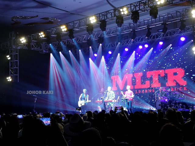 MLTR Concert in Batam, Indonesia. Michael Learns to Rock STILL Asian Tour 2018