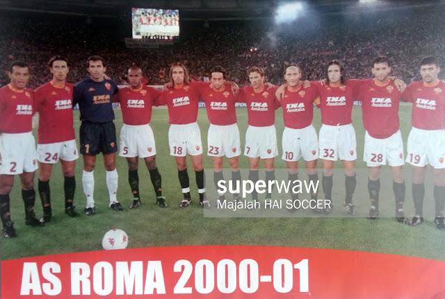 Pin up Tim AS Roma 2000