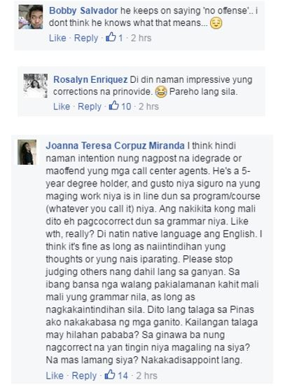 Call center agent shades degree holder's rant