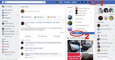 facebook hesap silme 1