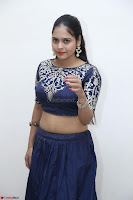 Ruchi Pandey in Blue Embrodiery Choli ghagra at Idem Deyyam music launch ~ Celebrities Exclusive Galleries 004.JPG