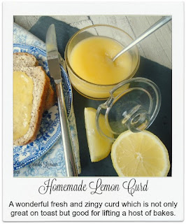 This fabulous homemade lemon curd is easy to make and rewards you with a delicious preserve which is wonderful spread on toast and used in a number of cakes and other bakes.