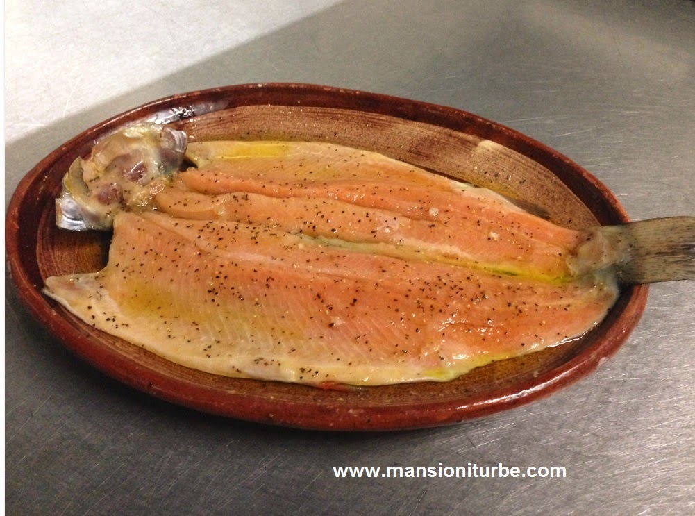 Rainbow trout is very popular in Michoacan Cuisine