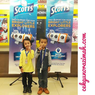 kidzania KL, scott's bright little explorers, aktiviti di kidzania, scott's gummies, tiket percuma ke kidzania