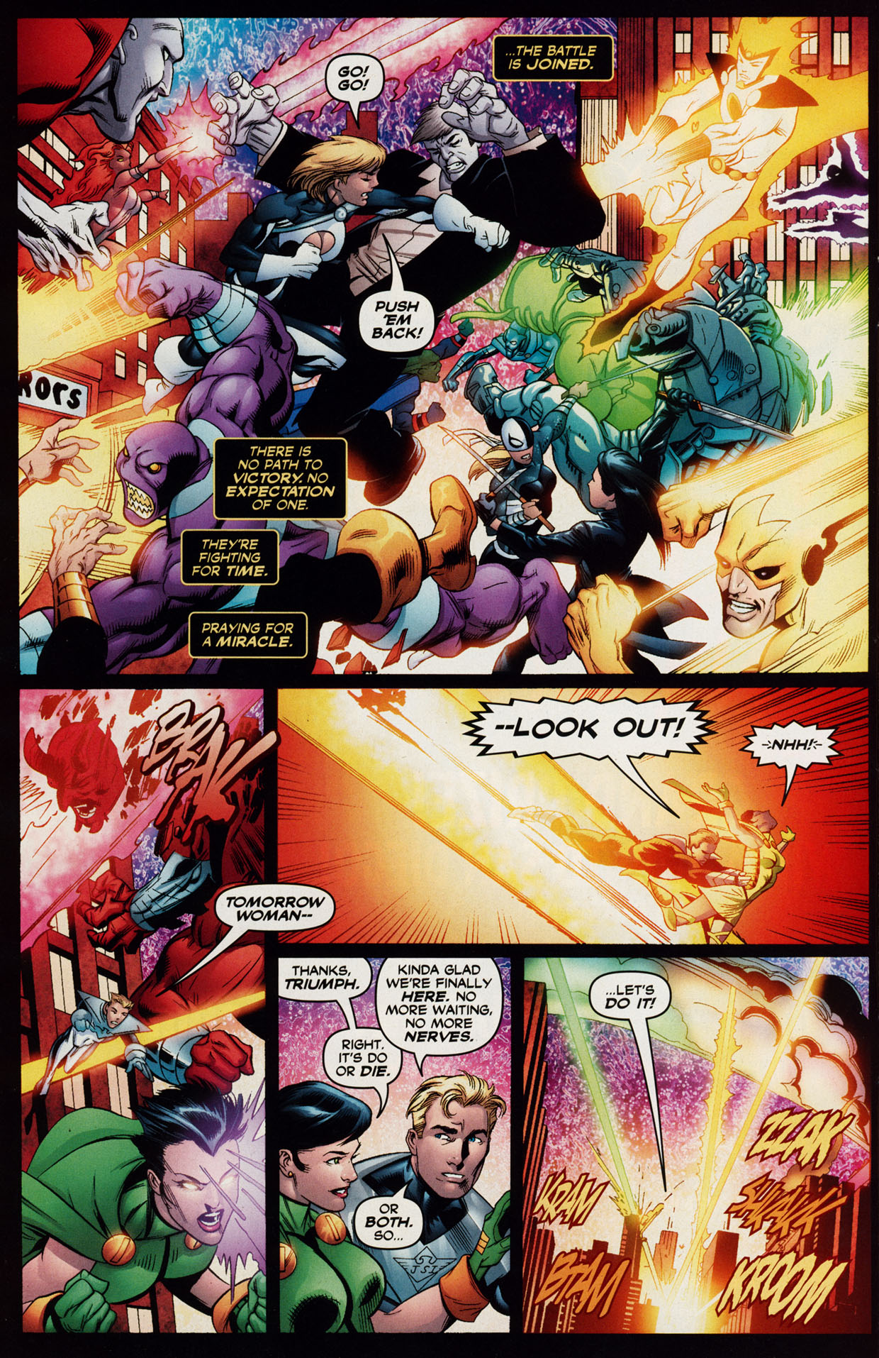 Read online Trinity (2008) comic -  Issue #39 - 9