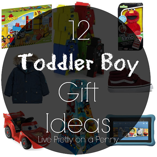 12 Days of Gift Ideas: Gift Ideas for Toddler Boys