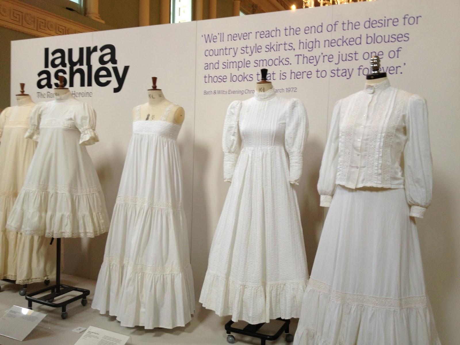 Aptly Led The E Exhibit Displays 100 Of Laura Ashley S Clic 1970s Dresses