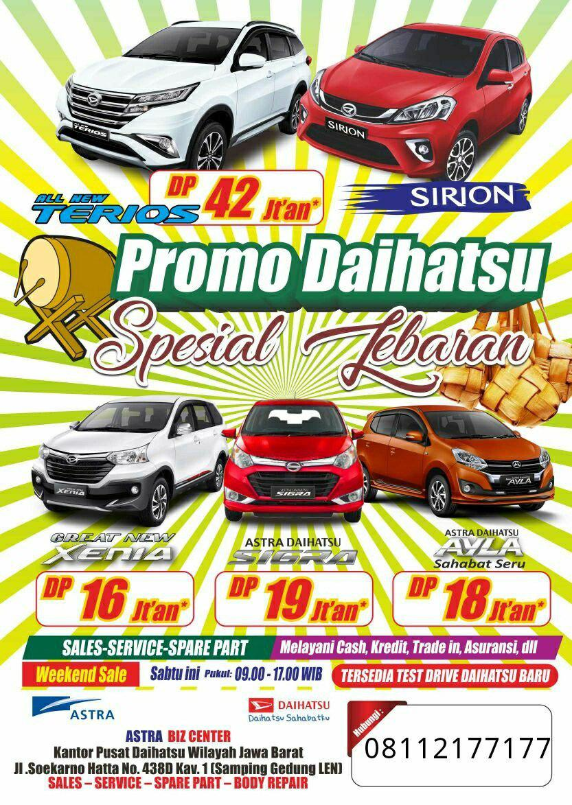 Dicari Freelancer/ Mediator/ Broker/ Perantara/ Business Support Brand Daihatsu (New)