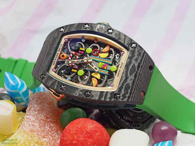 Richard Mille Bonbon Collection RM 37-01 Automatic Kiwi