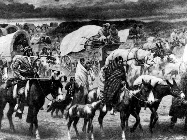 Τα Νοτιοανατολικά: Οι χωρικοί Τσερόκι