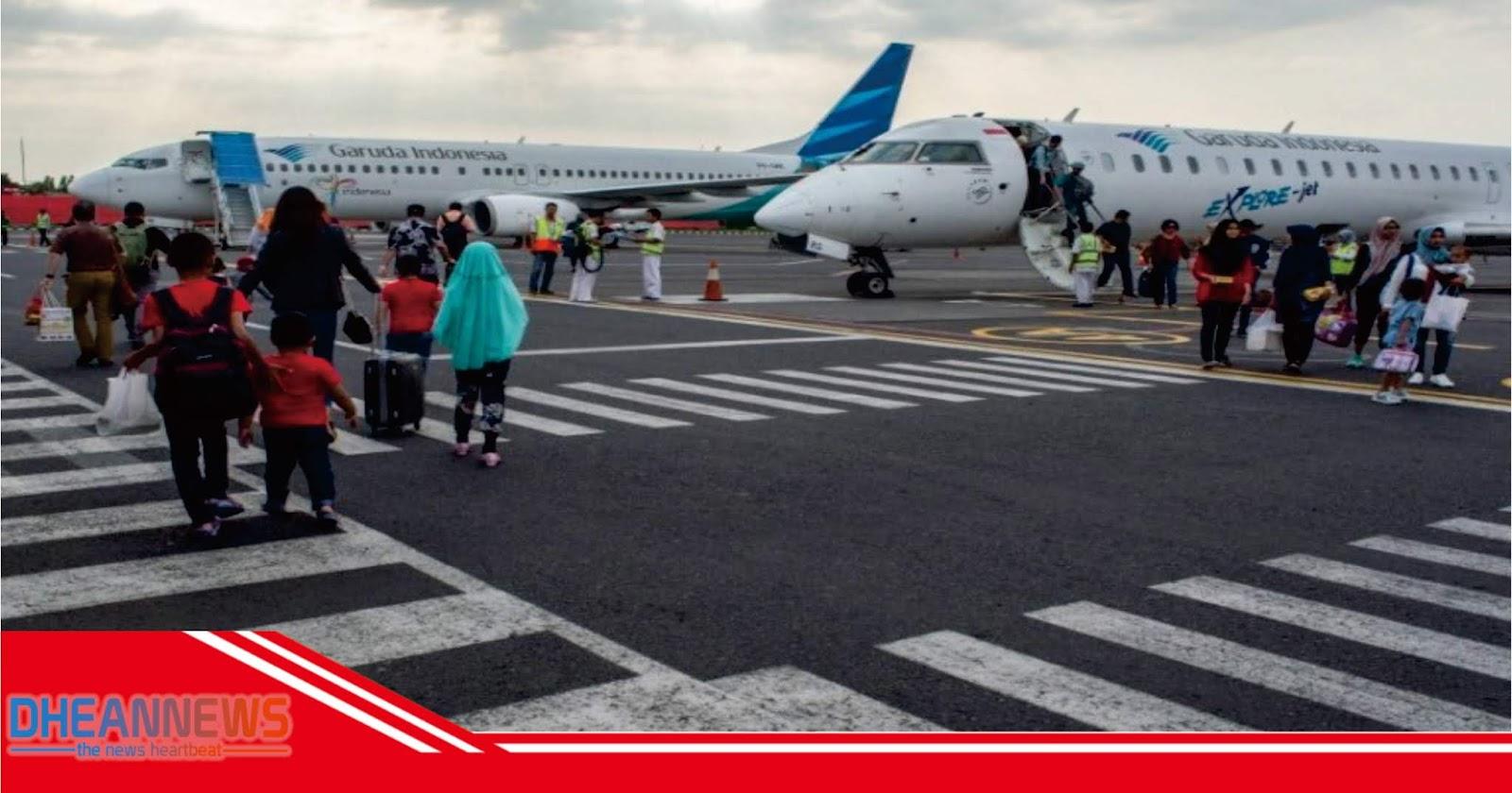 Berlaku Mulai Besok Tarif Tiket Pesawat Turun Dhean News