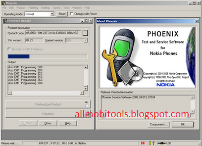 Phoenix Service Software (Nokia Flashing Software) 2017
