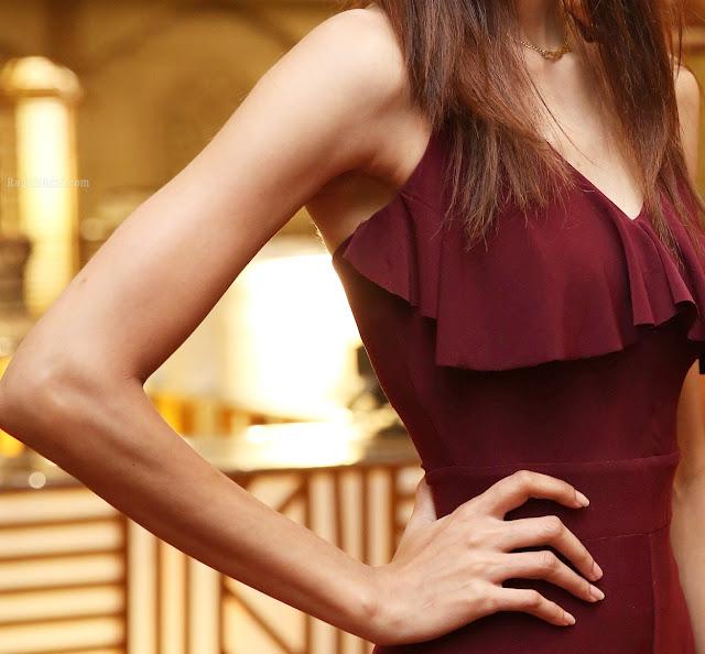 Devika Dhanyuni shaved armpit nude shoulder sexy naked hand for handjob
