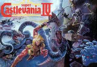 Portada del videojuego de la Super Nintendo: Super Castlevania 4