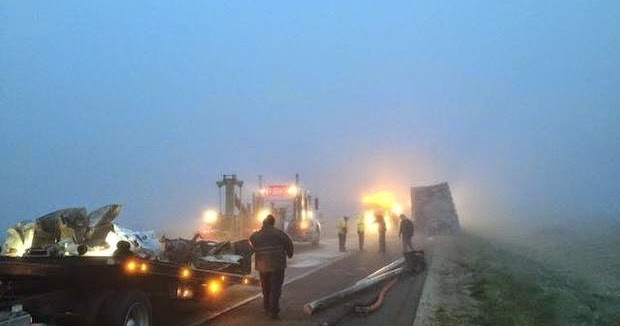 Fresno Visalia Bakersfield Accidents: Two Big Rigs Crash ...