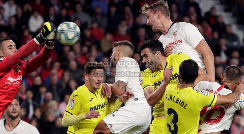 فياريال يحقق الفوز على اشبيلية في معقله بهدفين لهدف من الدوري الاسباني