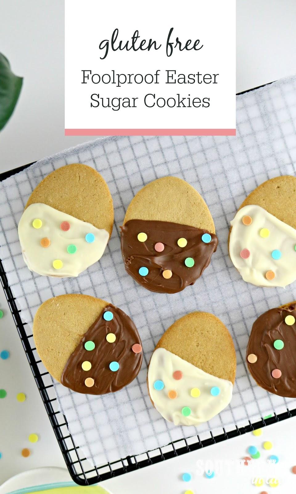 Foolproof Gluten Free Easter Sugar Cookies