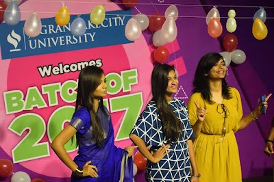 From newbies to rubies, it all started here: Fresher's Welcome 2017 at Jagran Lakecity University