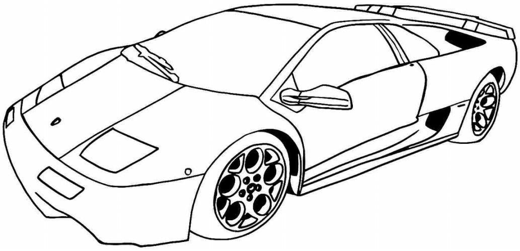 Gambar Mewarnai Mobil Terbaru Gambarcoloring