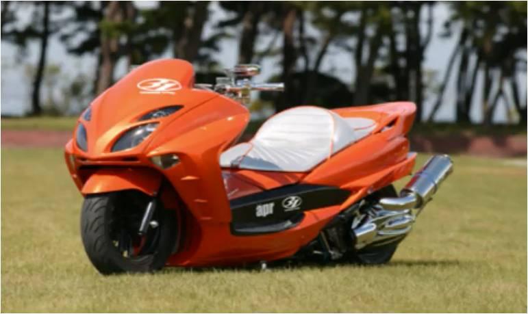 Monster Bego Modifikasi Motor Matic Gaya Jepang