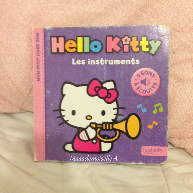 Hello Kitty - Les instruments