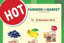 Katalog Promo Farmers Market Weekend Terbaru 23 - 25 November 2018