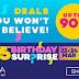 Harga Serendah RM1 di Lazada 5th Birthday Sale!!!