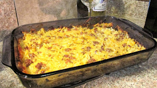 Hash brown casserole with sausage recipe