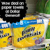 Dollar General:  HOT Stock up on Bounty Essentials Paper Towels This Week (thru 6/23!)