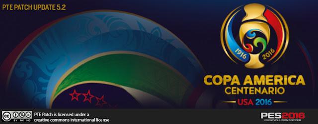 Update Copa America 2016 cho PES 2016