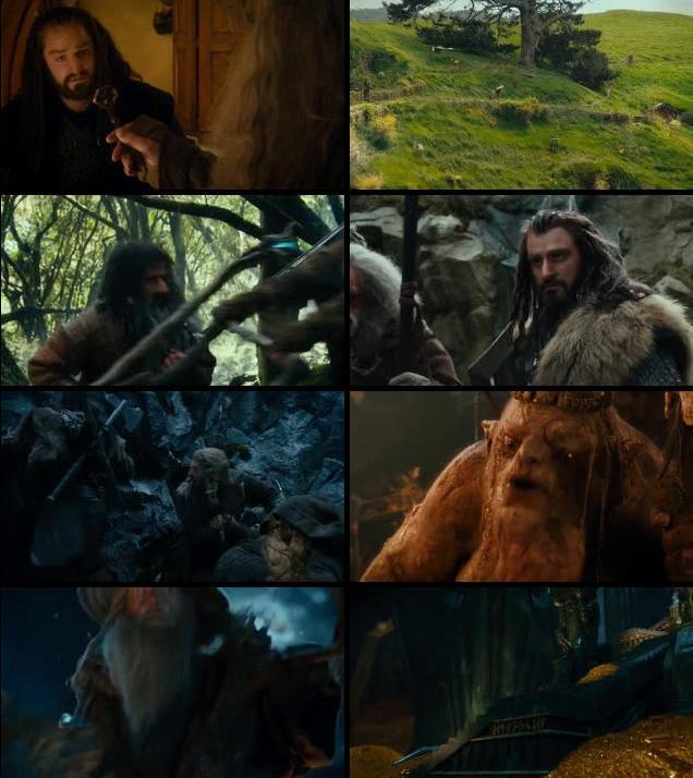 The Hobbit An Unexpected Journey 2012 Dual Audio Hindi 480p BluRay