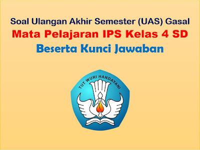 Soal UAS IPS Kelas 4 SD Semester 1 + Kunci Jawaban