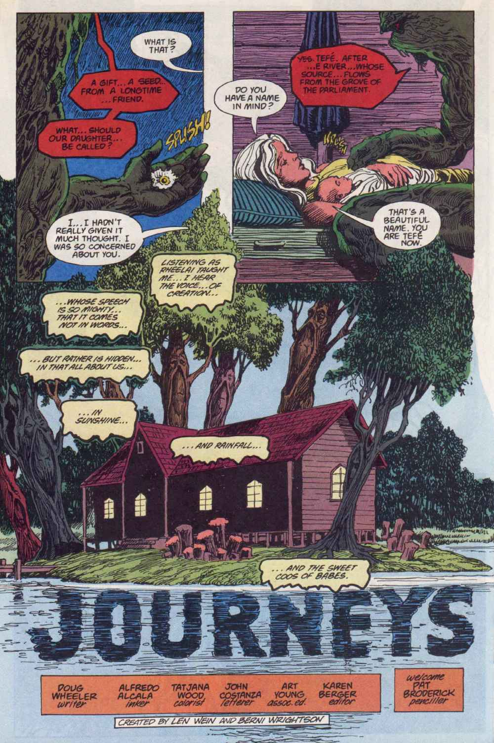 Swamp Thing (1982) Issue #90 #98 - English 24