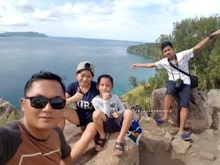Keluarga Suwanto di Bukit Pulisan, Likupang Timur, Minahasa Utara, Sulawesi Utara +jelajahsuwanto