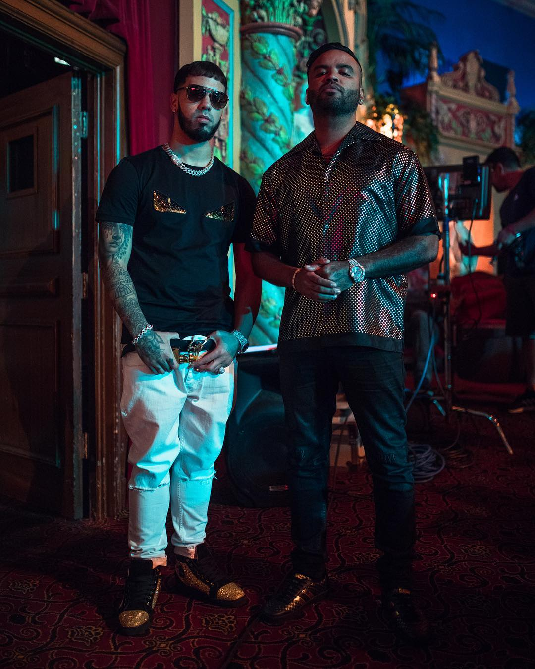 ¿Cuánto mide Anuel AA? - Altura - Real height Anuel%2B-%2BZion