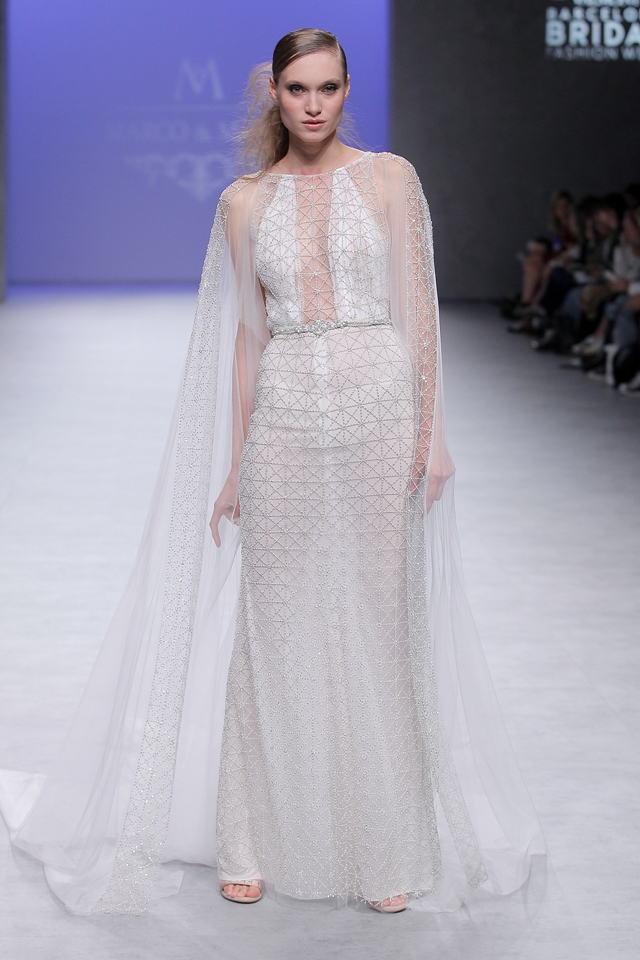desfile marco&maria barcelona bridal week - blog mi boda