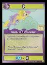 My Little Pony Doozy of a Downpour GenCon CCG Card