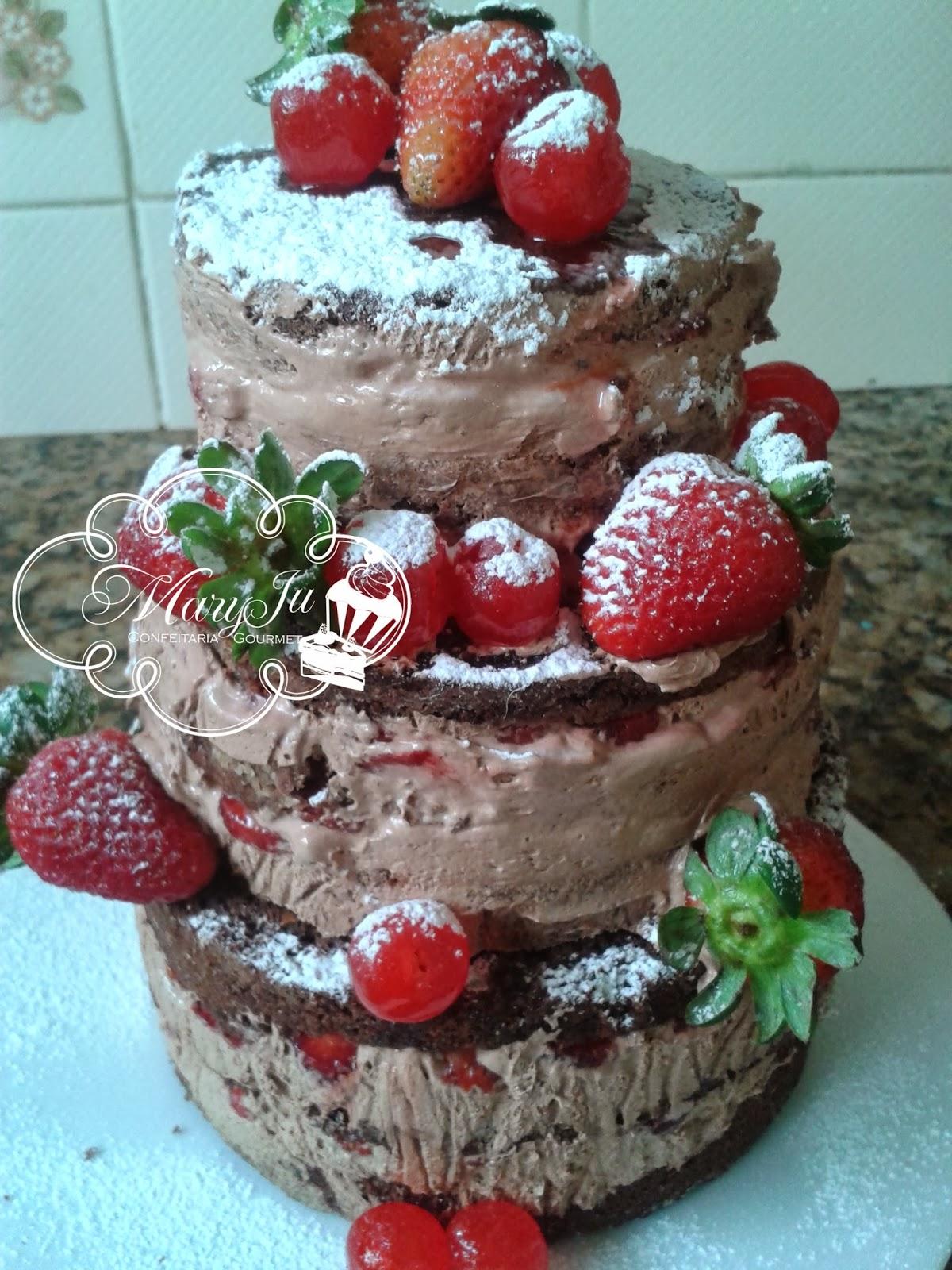 Naked Cake no Elo7 | Doçuras I&G Confeitaria (E167CC)