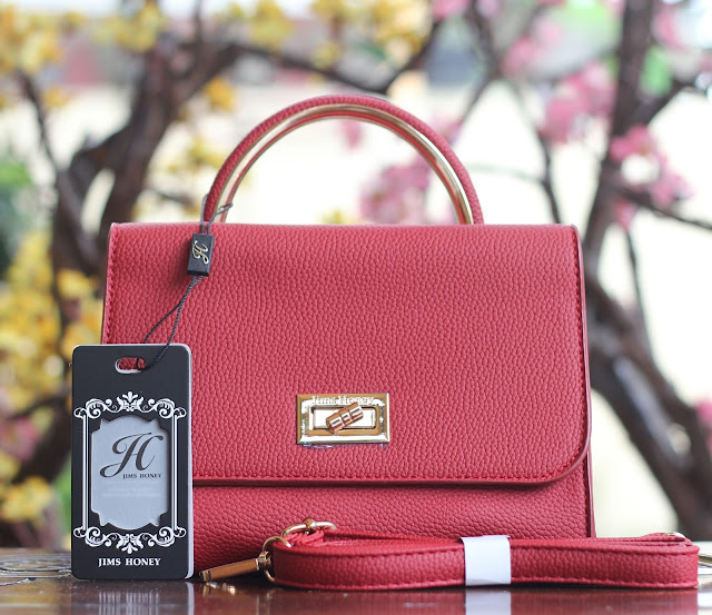 Jims Honey Lily Bag Red