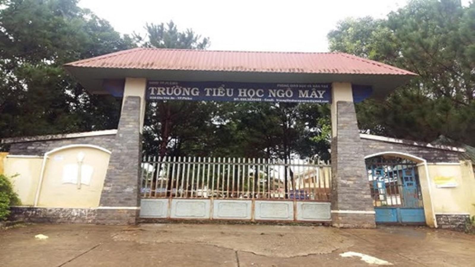 Gia Lai: Trường tiểu học Ngô Mây sai phạm liên tiếp, Ban giám hiệu rút kinh nghiệm!?