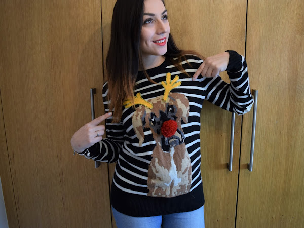 What Cat Wore | DIY Christmas Jumper