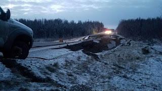 FOTOS: declaran zona de desastre en alaska por el terremoto.