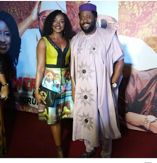 Photos;Celebrities embrace #AgbadaChallenge for Ay Comedian's new Movie #MerryMen Premiere..