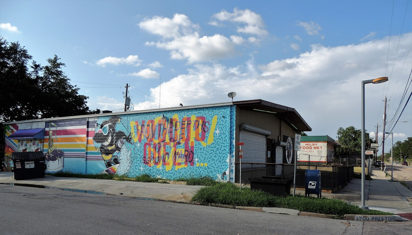 Voodoo Queen Mural in the Second Ward - Milby St North of Harrisburg Blvd