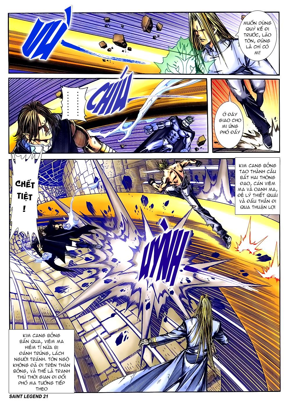 Bát Tiên Đạo chap 84 - Trang 19
