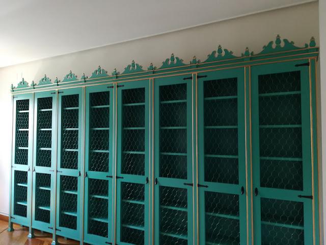 Carpintero Zaragoza - Fabricación de reproducción de librería antigua
